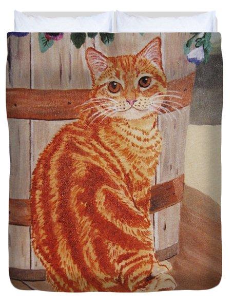 Tabby Cat Duvet Cover