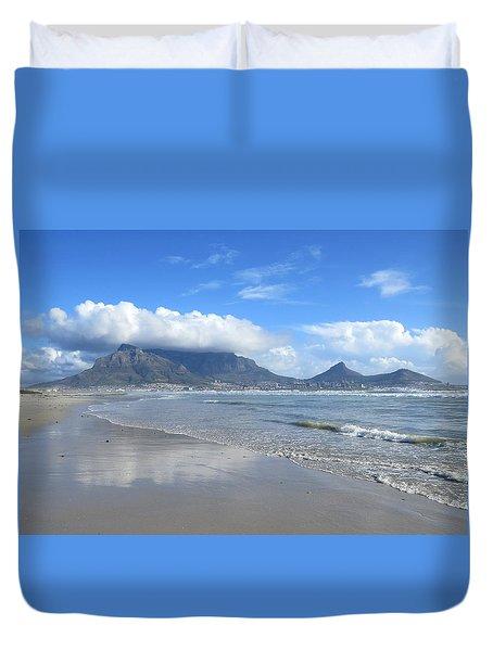 Table Mountain Duvet Cover