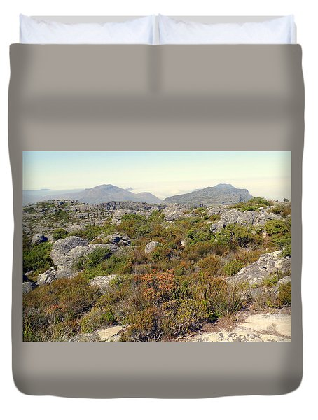 Table Rock Summit Duvet Cover