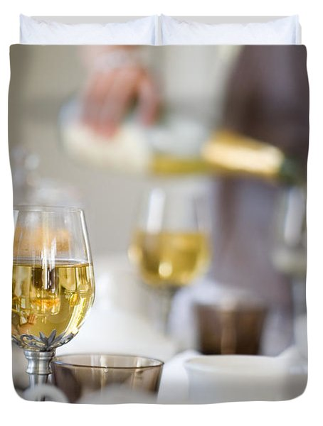 Table Setting Duvet Cover