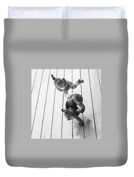 Tag Youre It Duvet Cover