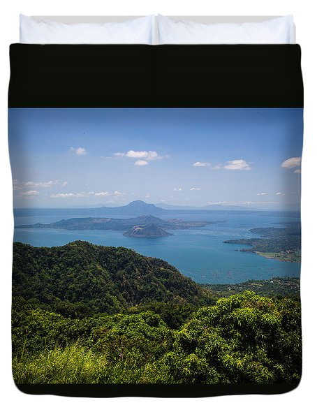 Tagaytay Ridge, Philippines Duvet Cover
