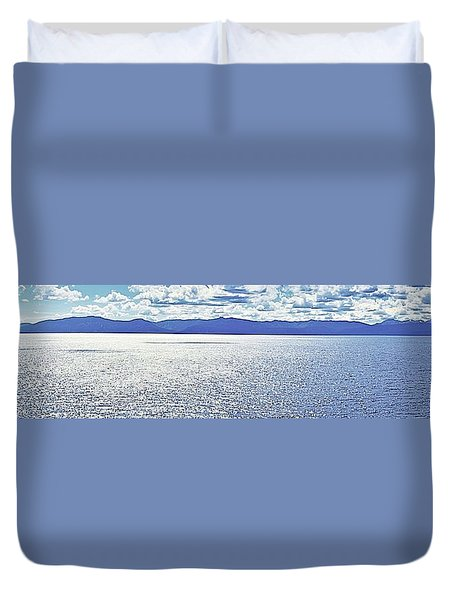 Tahoe From The East Shore Duvet Cover