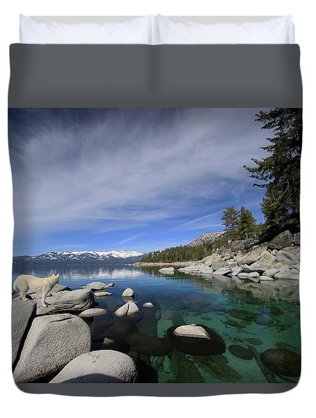 Tahoe Wow Duvet Cover