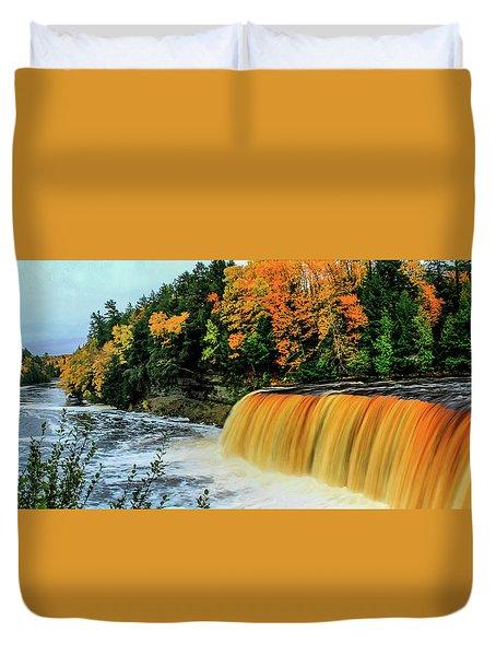 Tahquamenon Falls 2 Duvet Cover