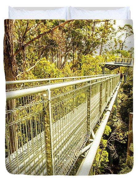 Tahune Airwalk Tasmania Duvet Cover