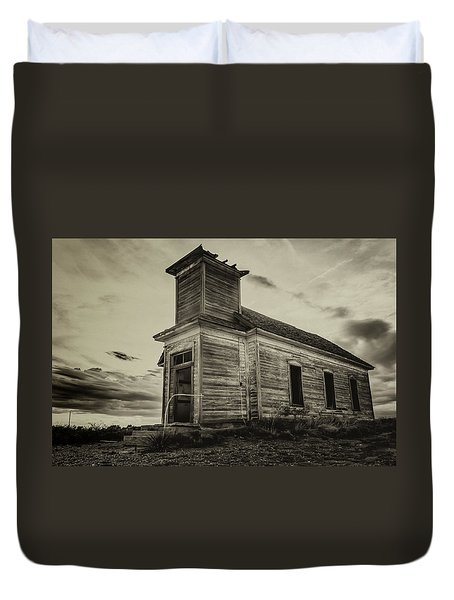 Taiban Presbyterian Church, New Mexico #2 Duvet Cover