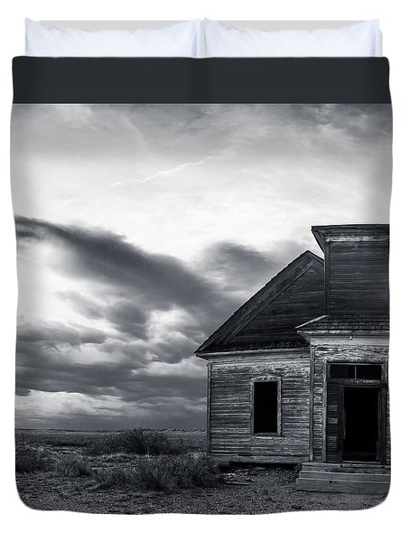 Taiban Presbyterian Church, New Mexico #3 Duvet Cover