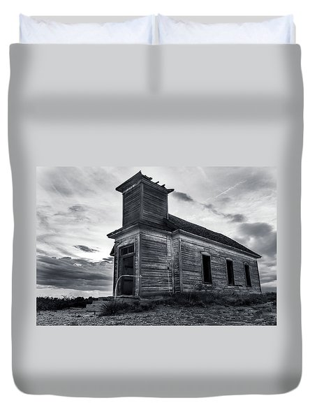 Taiban Presbyterian Church, New Mexico Duvet Cover