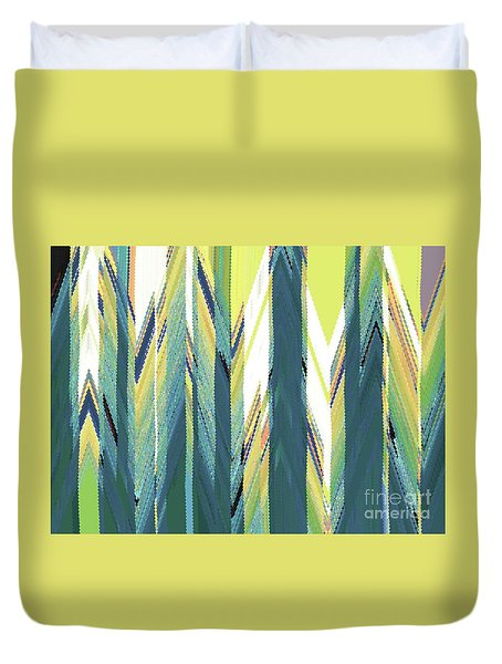 Taiga Forest Duvet Cover