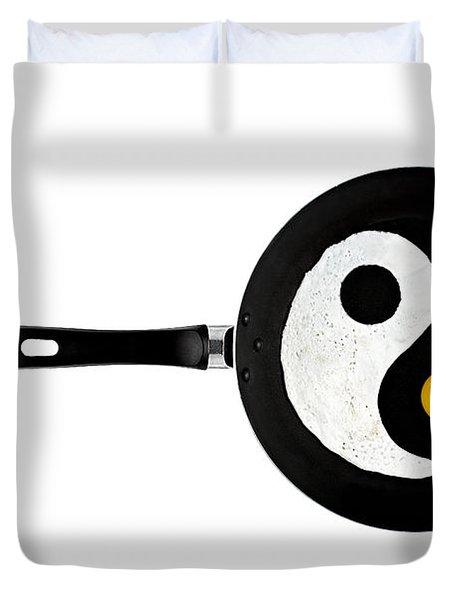 Taijitu Duvet Cover by Gert Lavsen