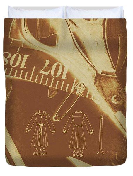 Tailor Art Duvet Cover