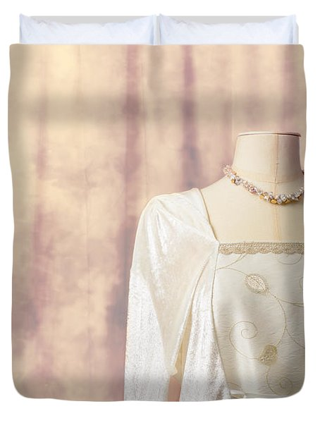 Tailors Dummy Duvet Cover