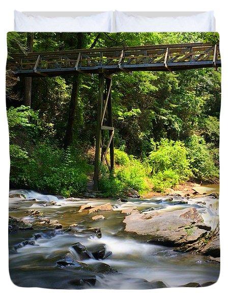 Tails Creek Duvet Cover