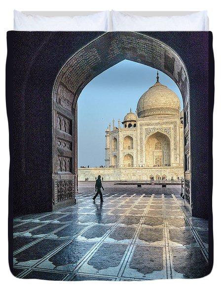 Taj Mahal 01 Duvet Cover