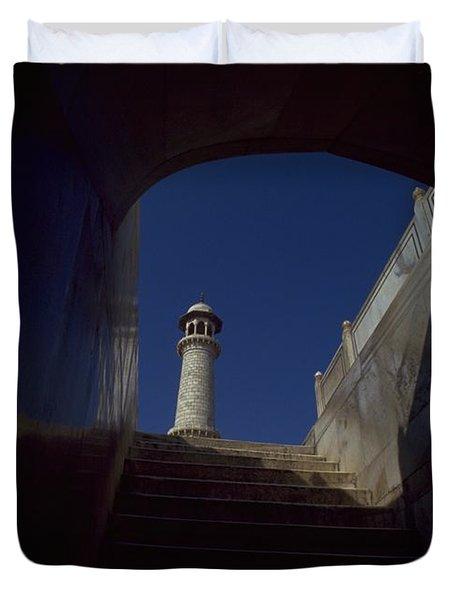 Taj Mahal Detail Duvet Cover