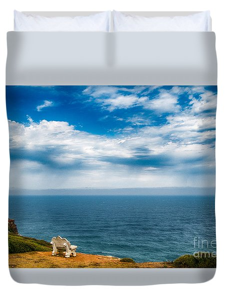 Take A Seat Duvet Cover