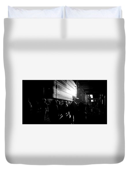 Take A Stroll With Me Once Again Duvet Cover