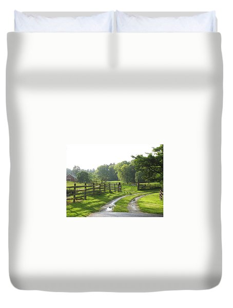 Take A Walk Duvet Cover