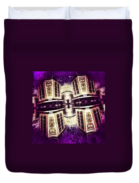 Take Care Of Us Captain Duvet Cover by Jorge Ferreira