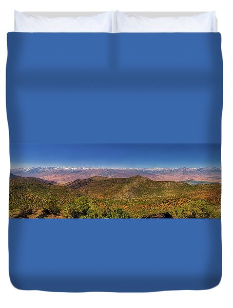 Duvet Cover featuring the photograph Take It All In by Rick Furmanek