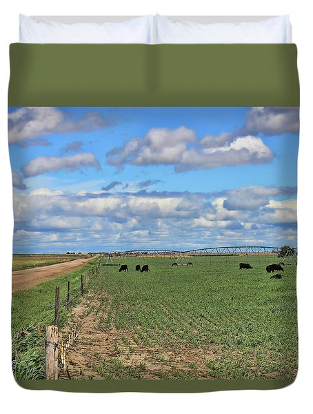 Take Me Home Country Roads Duvet Cover