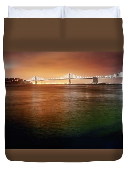 Duvet Cover featuring the photograph Take Me Home Tonight by Peter Thoeny