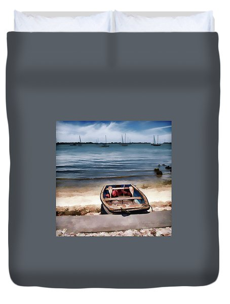 Take Me Out Duvet Cover