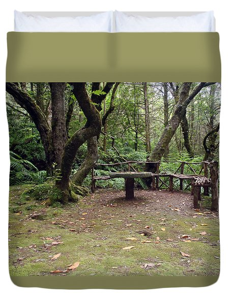 Take Sit And Rest Duvet Cover