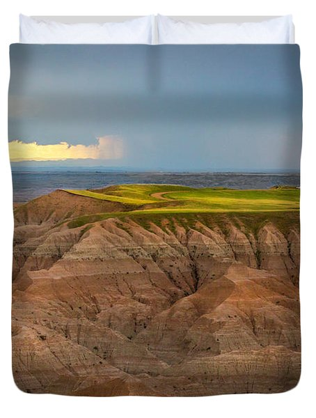 Take The High Road Duvet Cover
