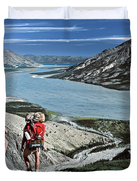 Take This View And Love It Duvet Cover