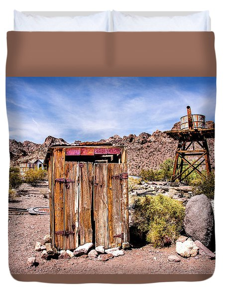 Duvet Cover featuring the photograph Takin A Break by Onyonet  Photo Studios