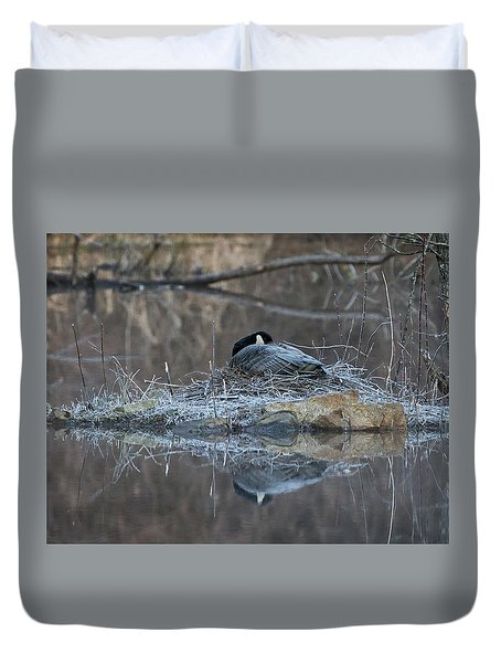 Taking A Rest Duvet Cover