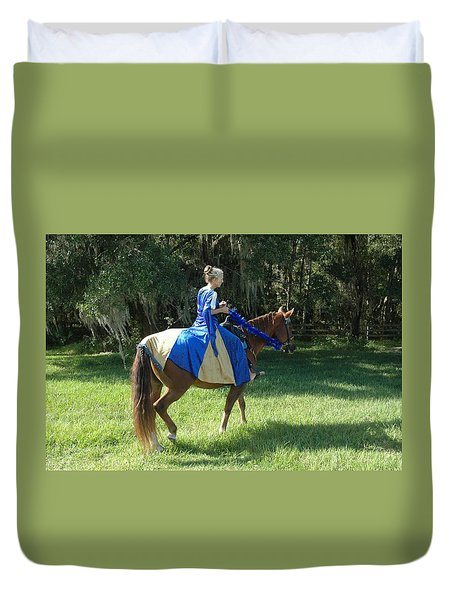 Taking A Ride Duvet Cover