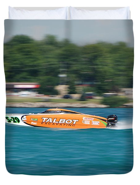 Talbot Offshore Racing Duvet Cover