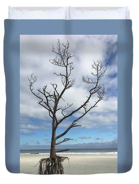 Talbot Stilt Tree #1 Duvet Cover