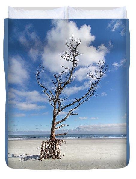 Talbot Stilt Tree #2 Duvet Cover