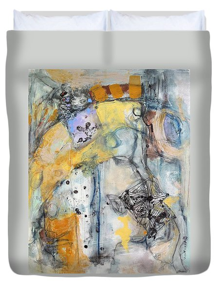Tales Of Intrigue Duvet Cover
