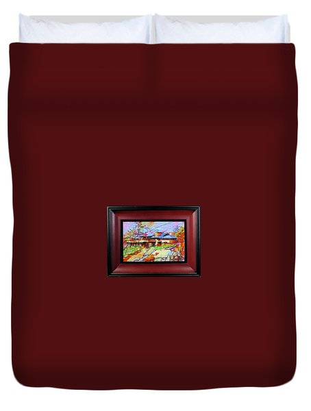 Taliesin Duvet Cover