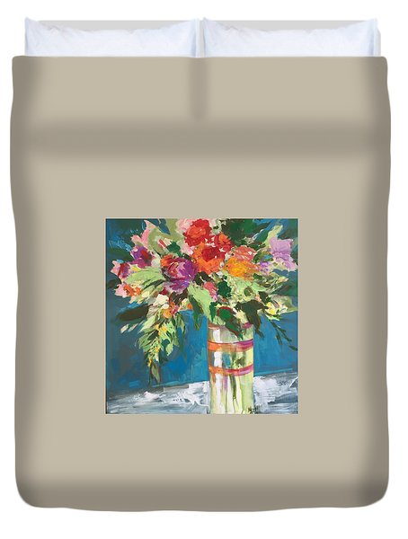 Tall Drink Of Water Duvet Cover