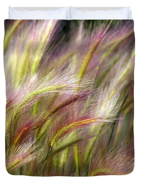 Tall Grass Duvet Cover