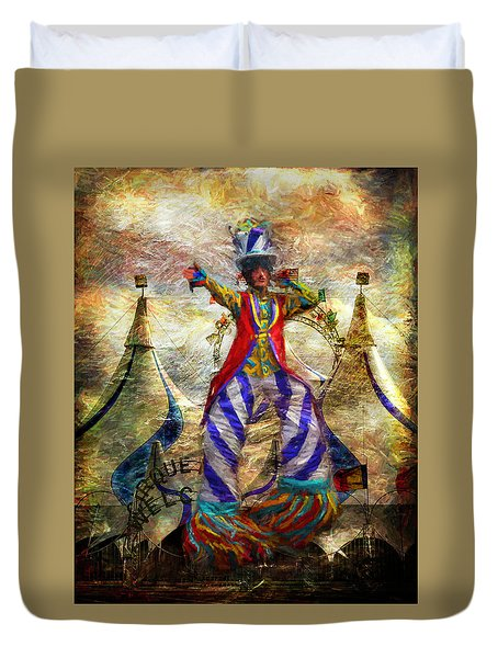 Tall Performer Duvet Cover