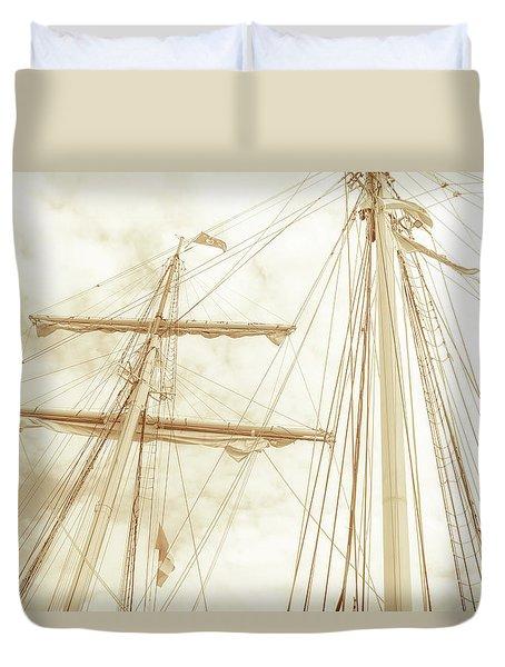 Tall Ship - 1 Duvet Cover