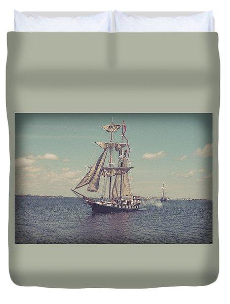 Tall Ship - 3 Duvet Cover