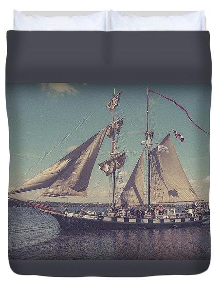 Tall Ship - 4 Duvet Cover