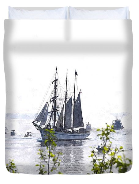 Tall Ship Tswc Duvet Cover