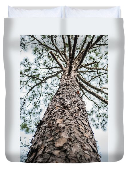 Tall Tree 4007 Duvet Cover by G L Sarti