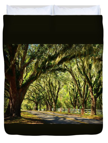 Tallahassee Canopy Road Duvet Cover