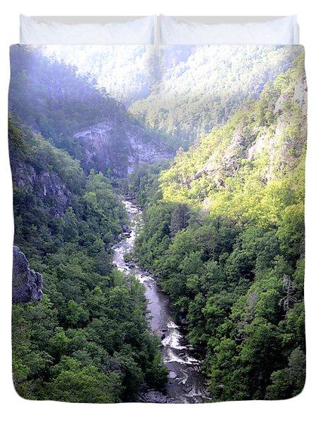 Tallulah Gorge Duvet Cover