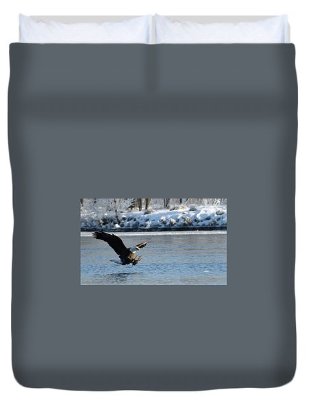 Talons Out Duvet Cover by Brook Burling